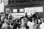 Митинг на Дворцовой площади за переименование города в Санкт-Петербург. Сентябрь 1990 г.