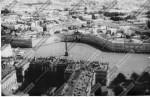 Вид с вертолета на ансамбль Дворцовой площади